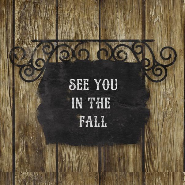 fall post