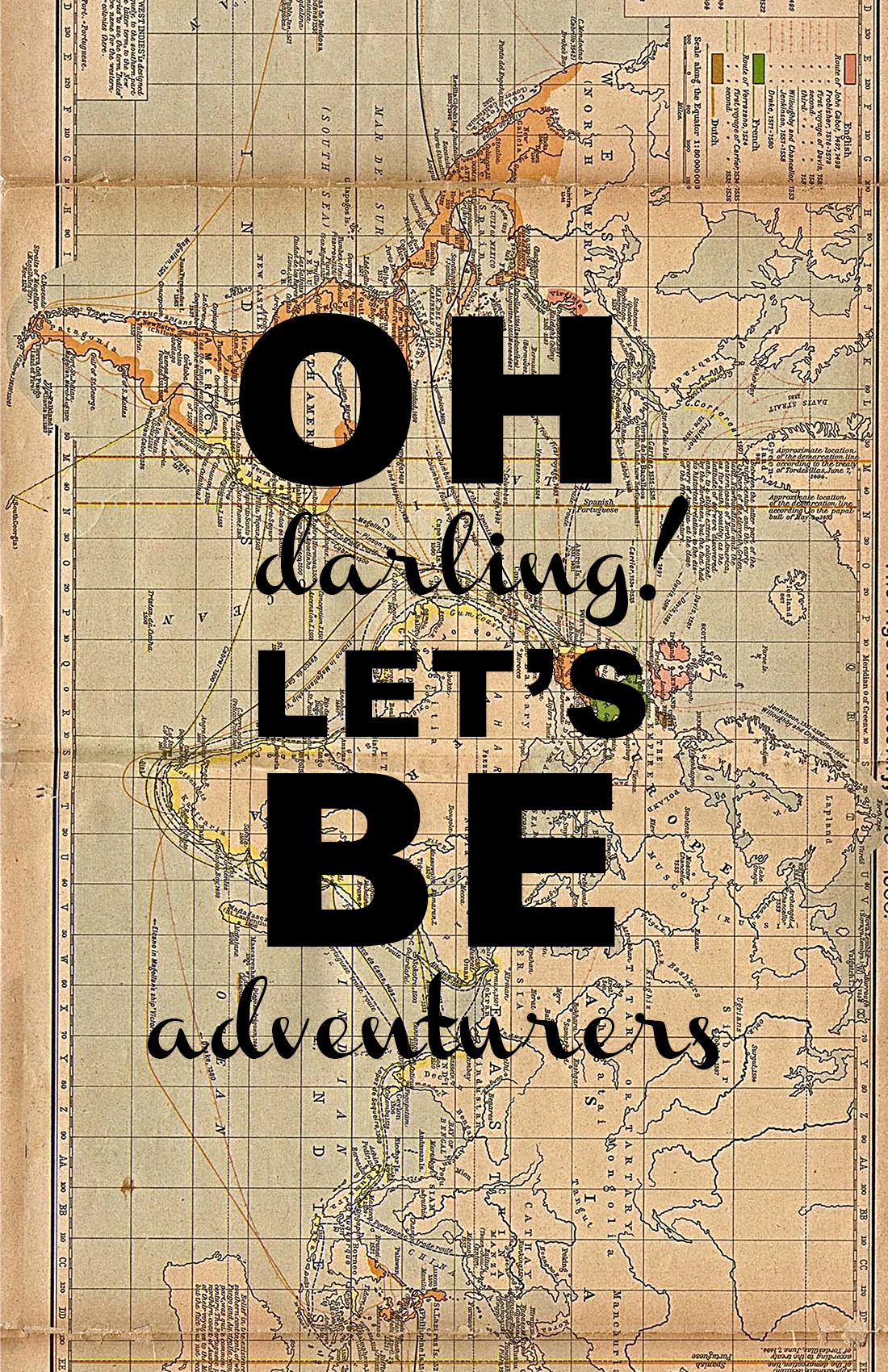 Oh Darling Let S Be Adventurers Charlotte Anabar